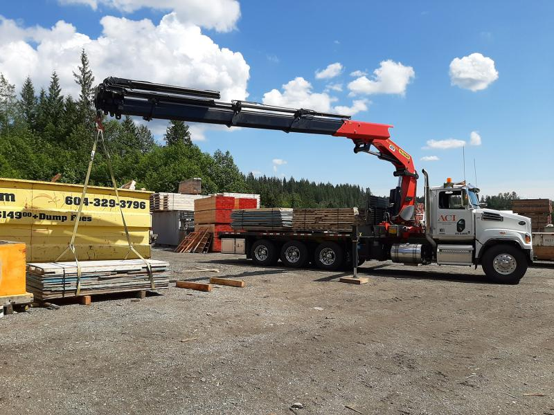 Alternative cartage joins falcon equipment and makes the switch to palfinger